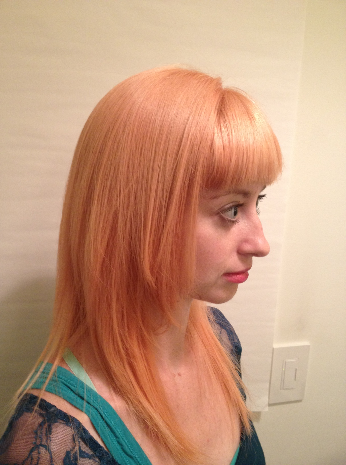Color Correction Christin S Path To Peach My Hair Fix