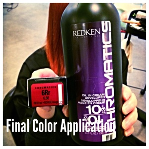 Final Color Application
